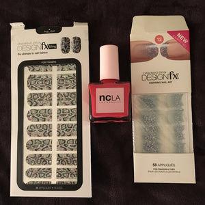 NCLA and Dashing Diva Nail